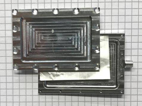 Sample of organic solar cell