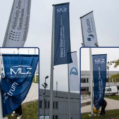 MLZ zeigt Flagge